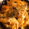 一人暮らし料理|手羽先トマトベースの炊き込みご飯【スキレット料理】How to make chicken wings tomato rice#52
