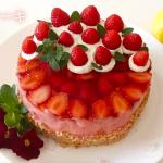 いちごケーキを自由にデコレーションしてみた【#家で一緒にやってみよう】Make strawberry cake at stay home【#WithMe】#70