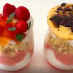 春のいちごパフェの作り方【手作りスイーツ】Spring strawberry parfait#72